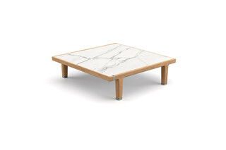 SEALINE coffee table marble 90  by  DEDON