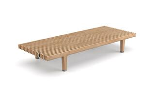 SEALINE coffee table wood  by  DEDON