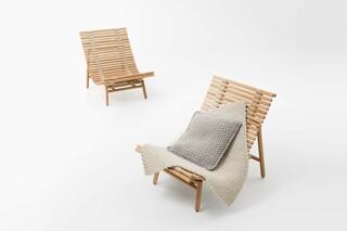 Shibui lounge chair  by  Paola Lenti
