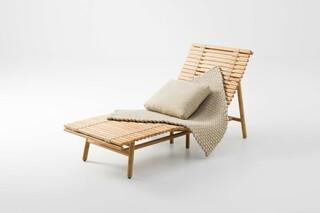 Shibui chaise lounge  by  Paola Lenti
