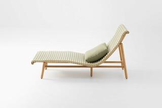 Shibusa chaise lounge  by  Paola Lenti