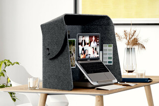 Fold-Up-Workspace  by  Wilkhahn