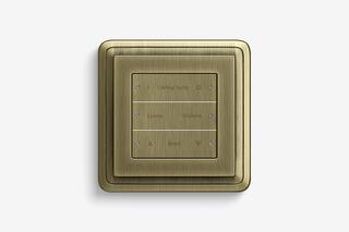 Pushbutton sensor 3 bronze  by  Gira
