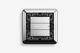 Pushbutton sensor 3 chrome  by  Gira