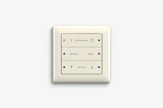 Pushbutton sensor 3 cream white glossy  by  Gira