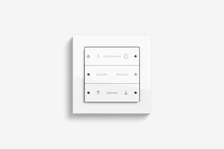 Pushbutton sensor 3 pure white glossy  by  Gira