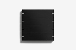 Pushbutton sensor 4 black aluminium  by  Gira