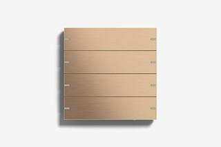 Pushbutton Sensor 4 bronze (pvd)  by  Gira