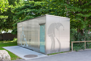 Public convenience, The Waggis, Basel  by  RMIG City Emotion