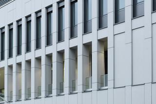 concrete skin, Osnabrück University computer centre  by  Rieder