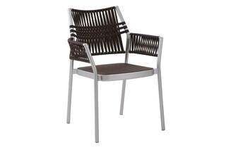 Temper armchair brown  by  Garpa