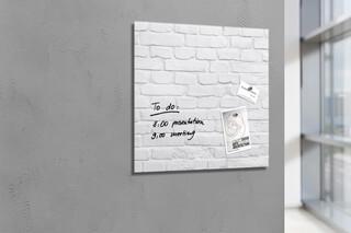 Glas-Magnettafel Artverum Design Boards 48 x 48  von  SIGEL