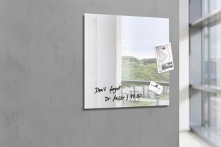 Glas-Magnettafel Artverum Spiegel 48 x 48  von  SIGEL