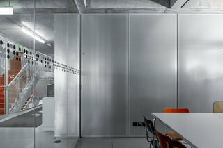 Partition wall Lindner Logic 100 Acoustic  by  Lindner Group