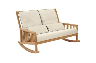 Newhaven rocking chair two-seater  by  Garpa