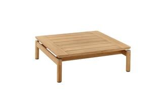 Cavo coffee table 80 X 80 teak  by  Garpa