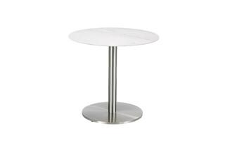 Ronda table ceramic marble white  by  Garpa