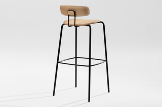 Oktio Ply Bar - Wooden seat  by  Zeitraum