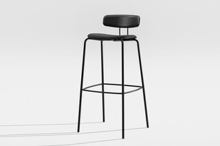 Oktio Ply Bar - Upholstered seat  by  Zeitraum