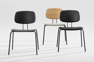 Oktio Ply Dining - Upholstered seat  by  Zeitraum