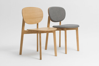 Zenso – Wooden seat and wooden back  by  Zeitraum