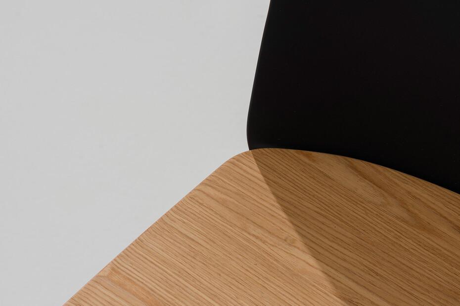 Mixu - Counter stool 4 wood legs