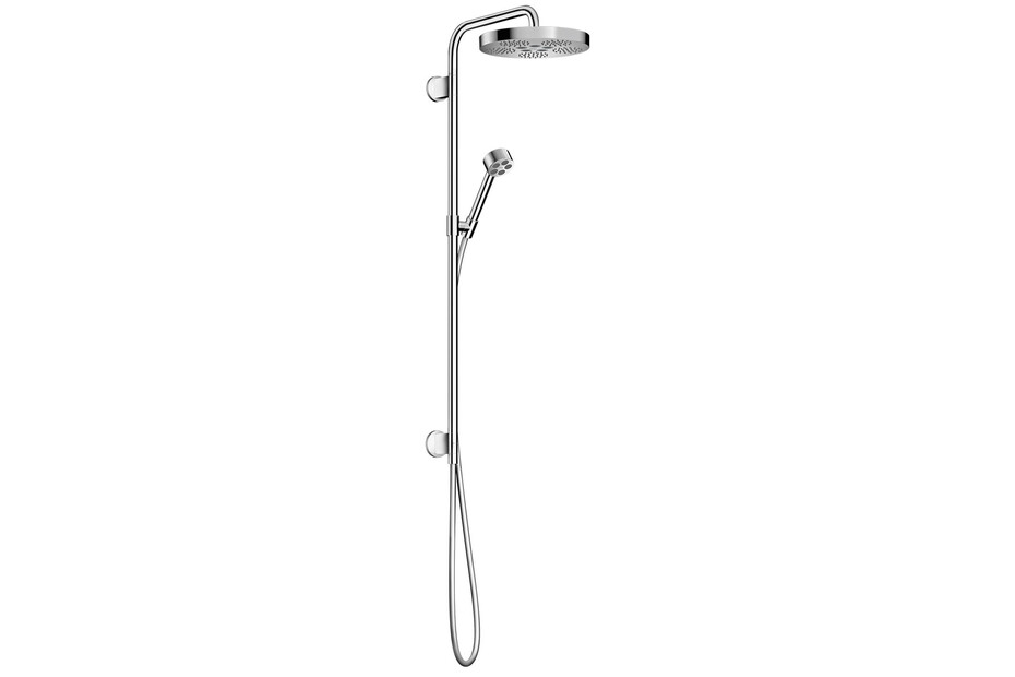AXOR One Showerpipe 280 1jet for concealed installation Chrome