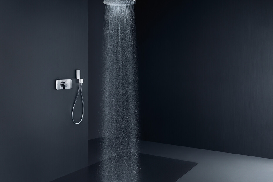 AXOR One Thermostatic module for concealed installation for 2 functions Matt Black