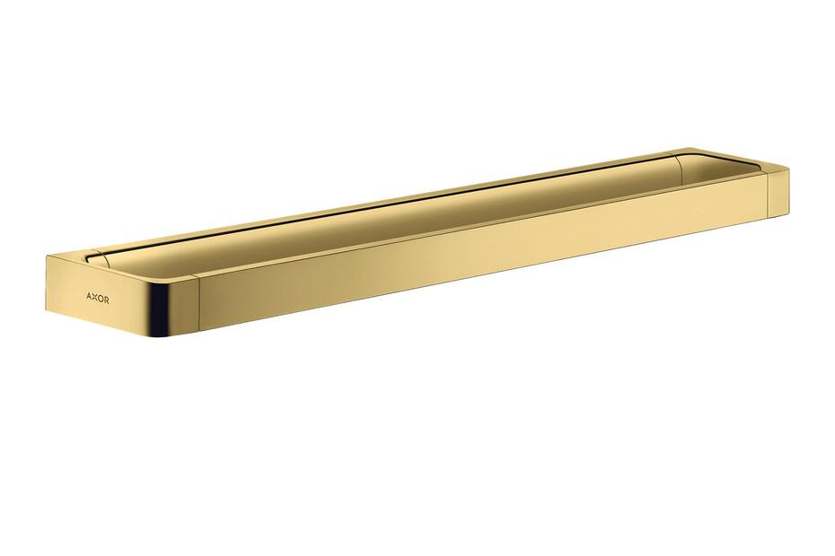 AXOR Universal Accessories Rail bath towel holder 600 mm Polished Gold Optic