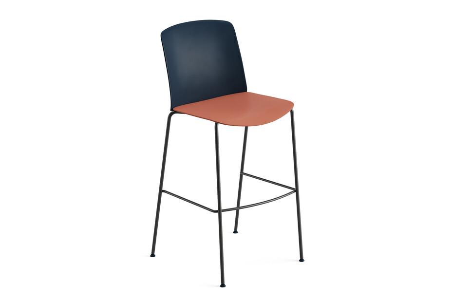 Mixu - Bar stool 4 legs