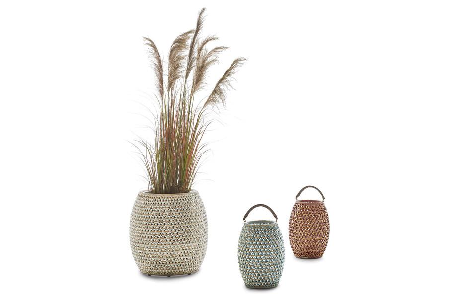 DALA planter & lantern
