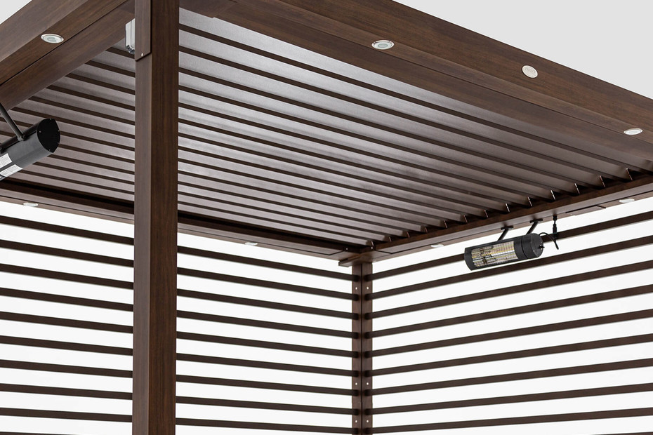 Equinox Cabana with Automated Louvered Roof