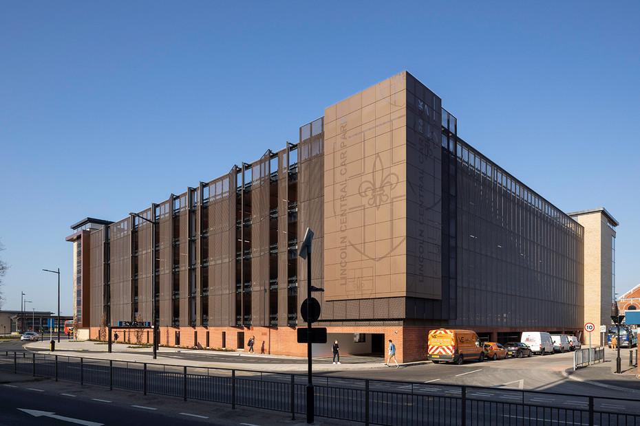 MSCP Lincoln Hub Multi-storey car park, Lincoln, England