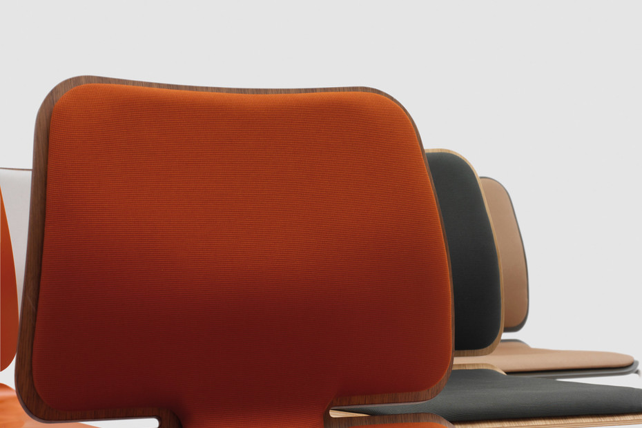 Form – aufliegendes Sitz- und Rückenpolster