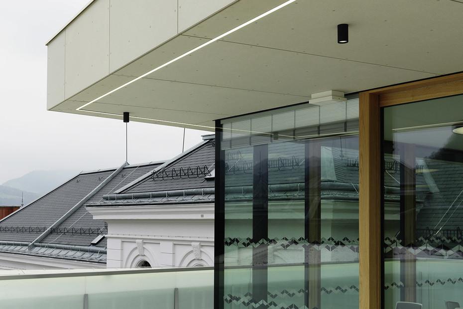 concrete skin, Salzburg courthouse