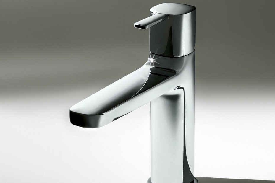 LAMÉ Single-hole washbasin mixer