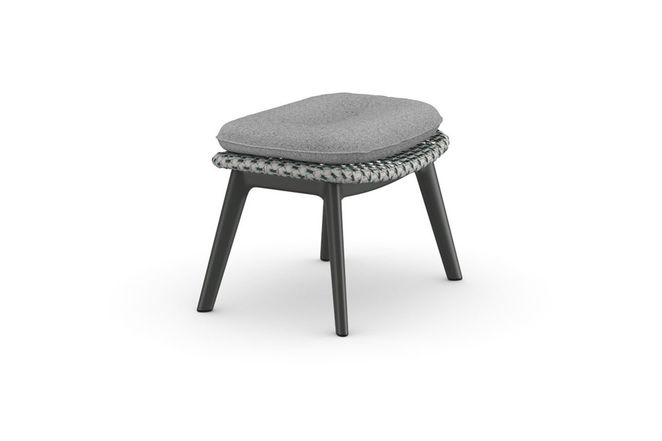 MBRACE footstool aluminum base