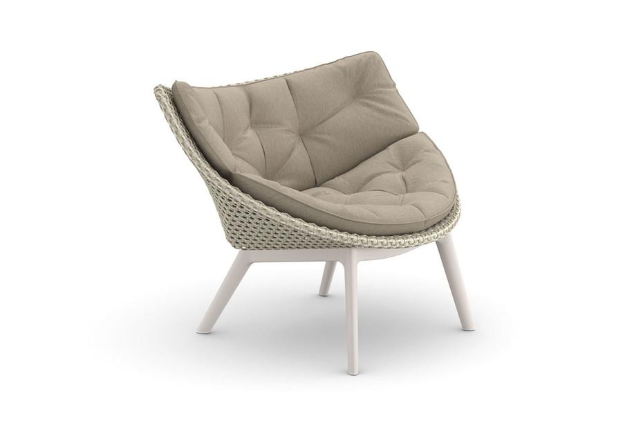 MBRACE lounge chair aluminum base