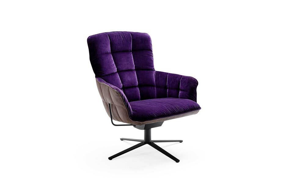 Marla Easy Chair High mit Fußkreuzgestell