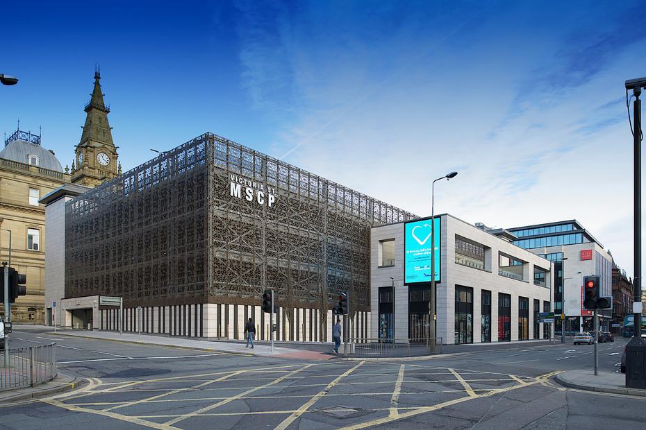 MSCP Victoria Street Multi-storey car park, Liverpool