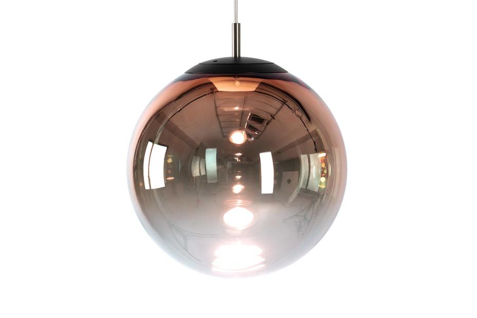 glaskugelleuchte ku3 LED gradient rosegold