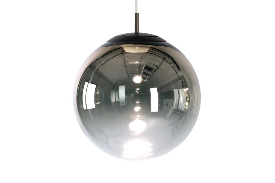glaskugelleuchte ku3 LED gradient chrome