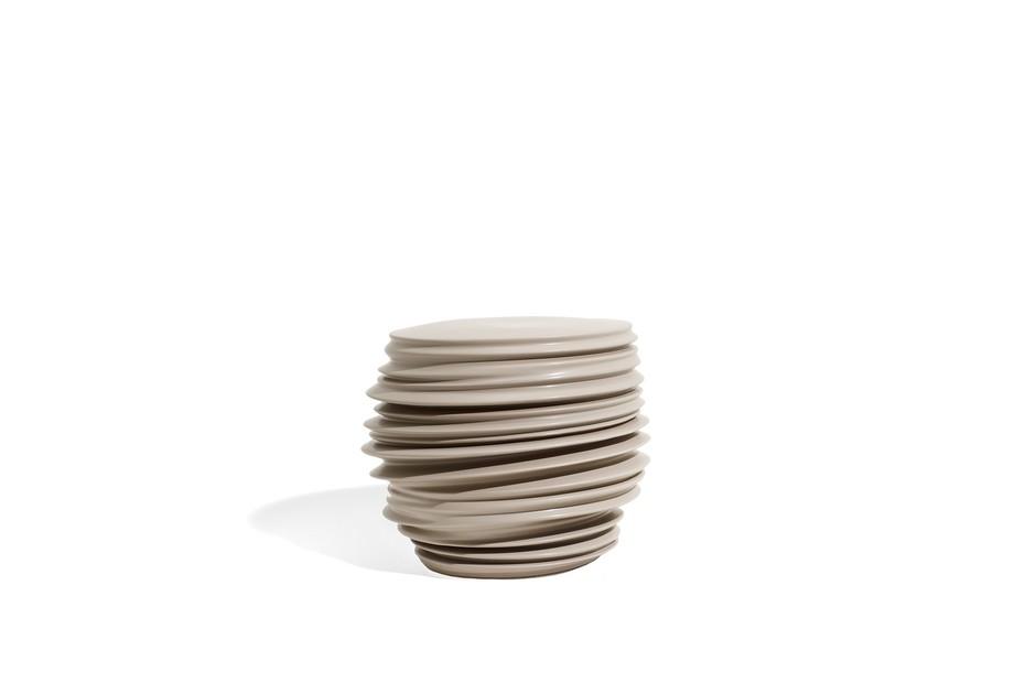 BABYLON Hocker / Beistelltisch Keramik