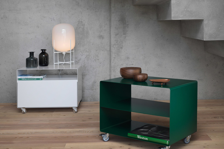 R 103N trolley with shelf