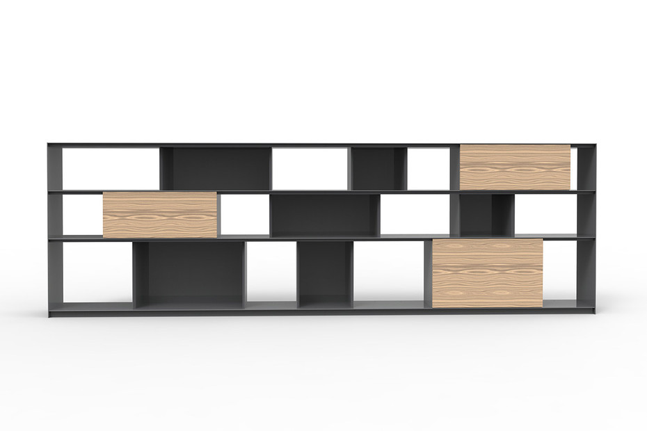 STACK shelving system