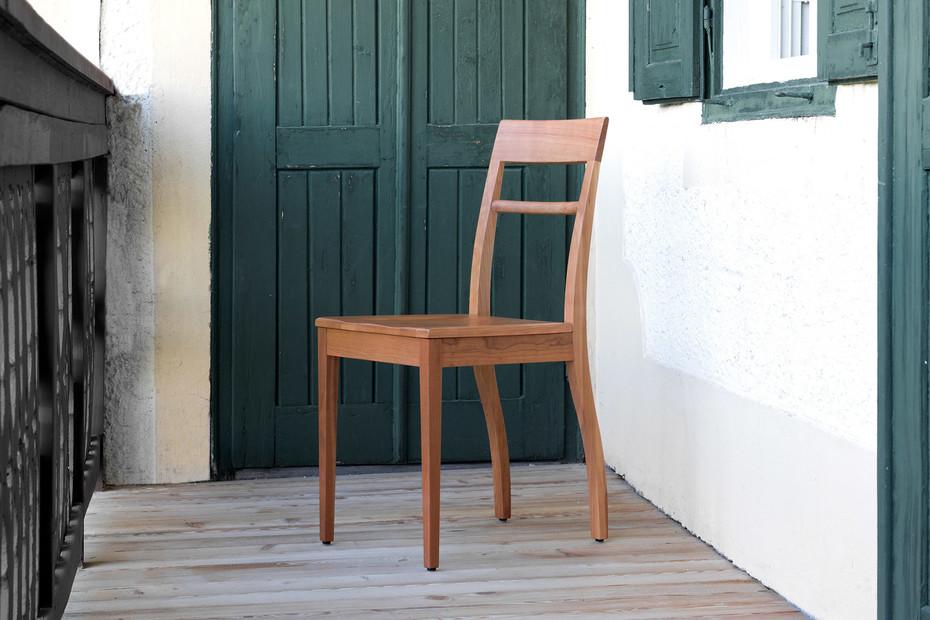 Blue Chair – Holzsitz