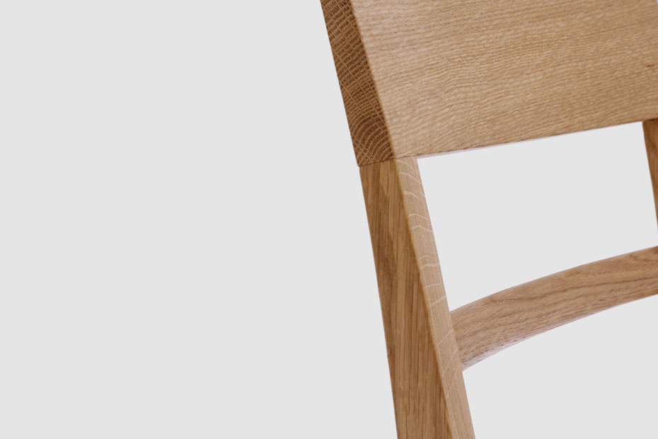 Blue Chair – Wooden seat
