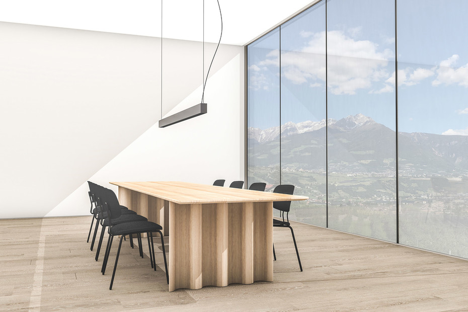 Oktio Ply Dining - Wooden seat