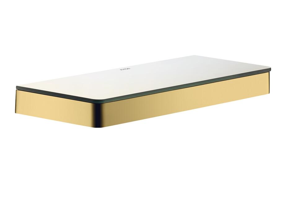 AXOR Universal Accessories Shelf 300 Polished Gold Optic