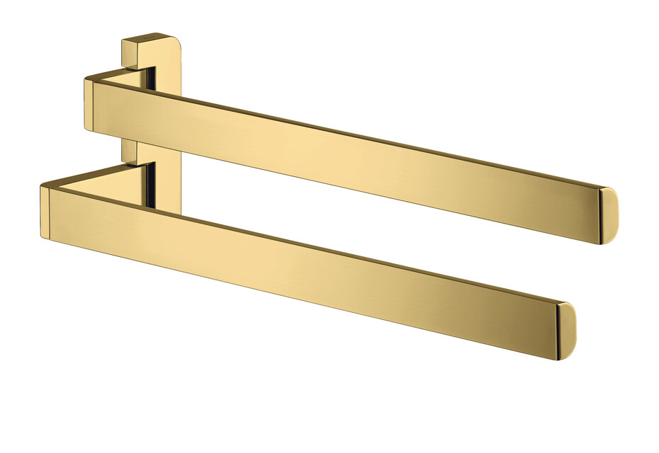 AXOR Universal Accessories Towel holder twin-handle Polished Gold Optic